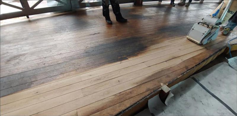 Onderhoud van houten vloeren en parket vloeren - voor